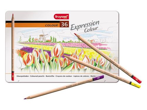 Bruynzeel Expression Colour  36 coloured pencils