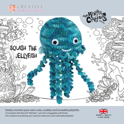 Knitty Critters-Squish Jellyfish
