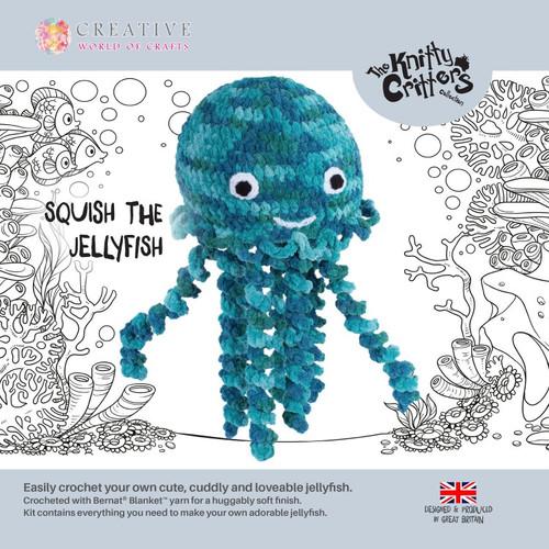Knitty Critters-Squish Jellyfish