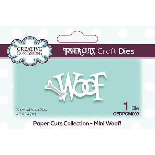 Paper Cuts Mini Woof Craft Die