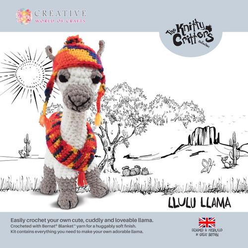 Knitty Critters-Llulu Llama
