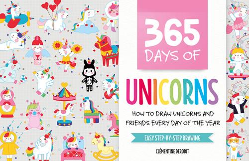 365 Days of Unicorns by Clémentine Derodit
