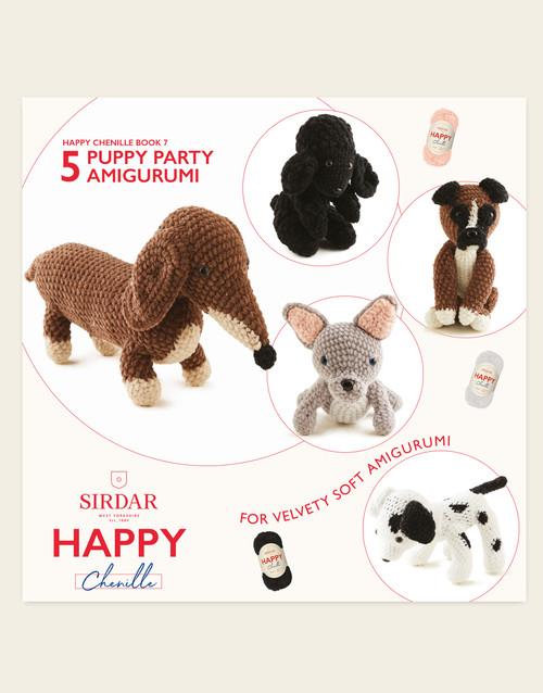 Sirdar Happy Cotton Book 7, Puppy Party