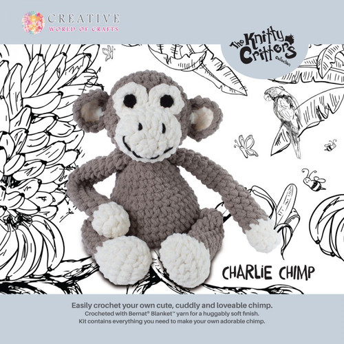 Knitty Critters-Charlie Chimp