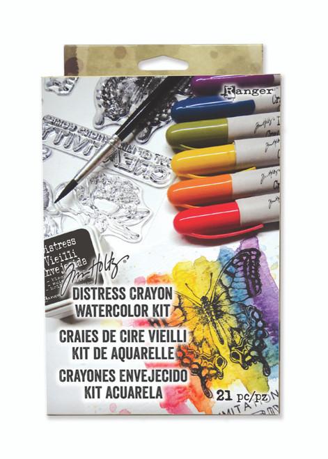 Tim Holtz Distress Crayon Watercolour Kit