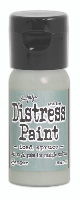 Tim Holtz Distress Flip Top Paint - Iced Spruce - 1oz