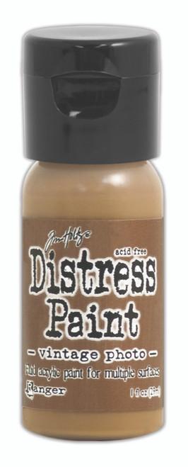 Tim Holtz Distress Flip Top Paint - Vintage Photo - 1oz