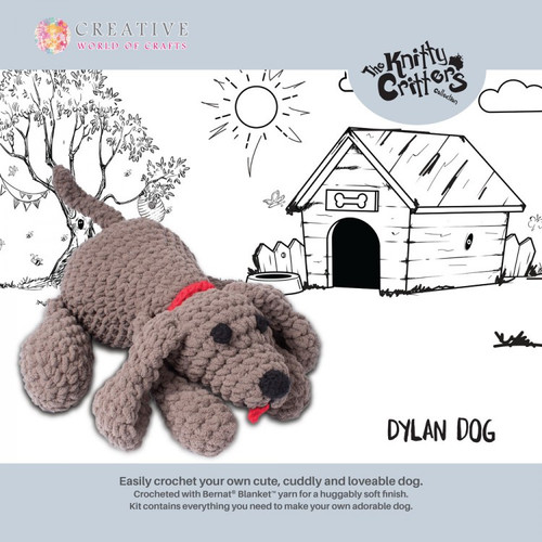 Knitty Critters-Dylan Dog