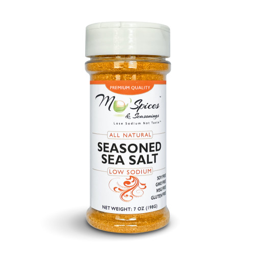 Mo'Spices Seasoned Sea Salt - Low Sodium