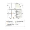 Padstow 500 Floorplan & Dimensions