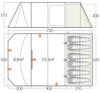 Orava 600XL Floorplan & Dimensions