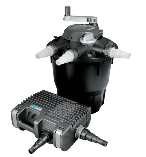 Hozelock Bioforce Revolution 9000 Kit with Aquaforce Pump