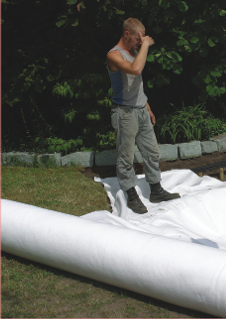 Geotextile Pond Underlay per linear metre 250gsm
