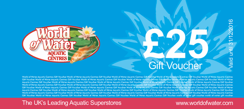World of Water Gift Vouchers