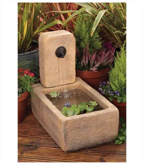 Liberty Stone Trough and Tap Water Feature