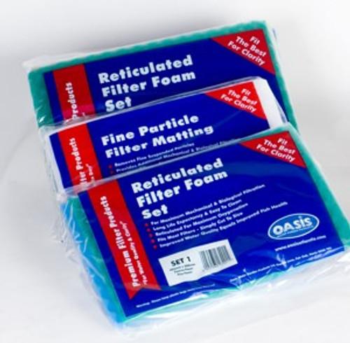 Lotus Pond Filter Foam Set 3