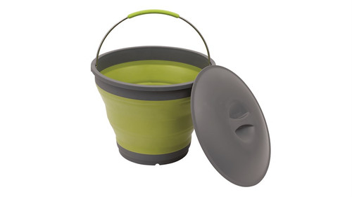 Outwell Collaps Bucket w/lid Green