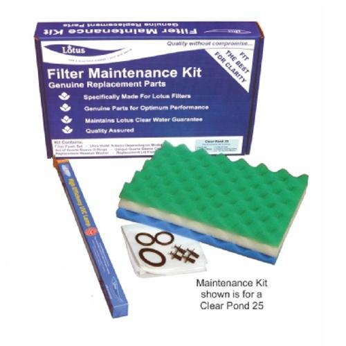 Lotus Clear Pond 25 Filter Service Kit
