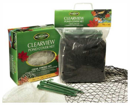 Blagdon Clearview 4m x 3m Pond Cover Net Kit