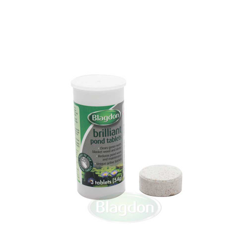 Blagdon Brilliant Pond Tablets Pack Of 3