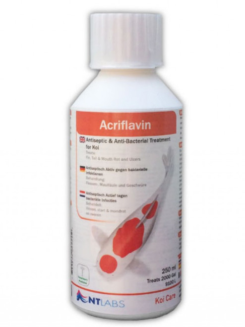 NT Labs Acriflavin 250ml Antiseptic & Anti-Bacterial Treatment