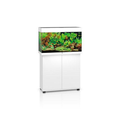 Juwel Rio 125 White fish tank and stand