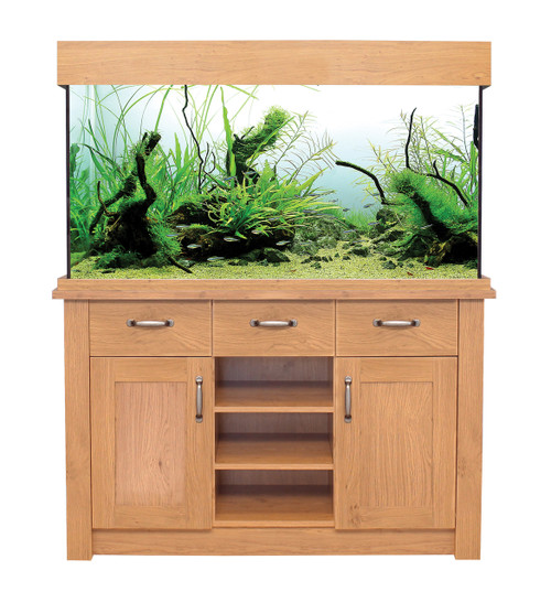 Aqua One Oakstyle Aquarium And Cabinet 230 Litres
