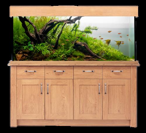 Aqua One Oakstyle Aquarium And Cabinet 300 Litres