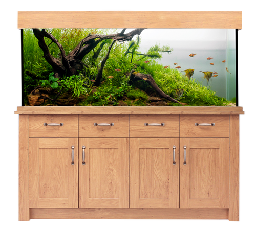 Aqua One Oakstyle Aquarium And Cabinet 300 Litres