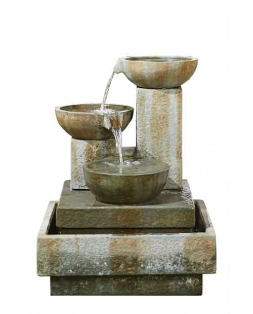 Kelkay Patina Bowls Water Feature
