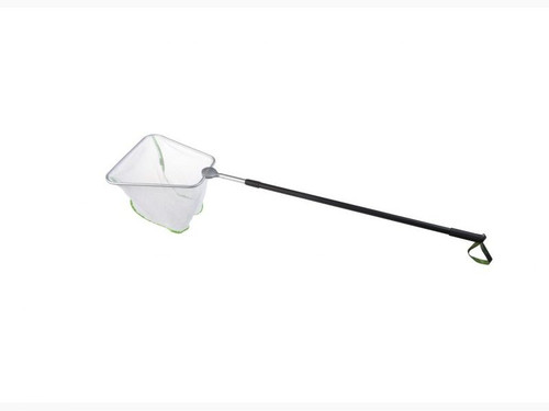 Velda 35cm Fine Square Daphnia Pond Net  With Telescopic Handle