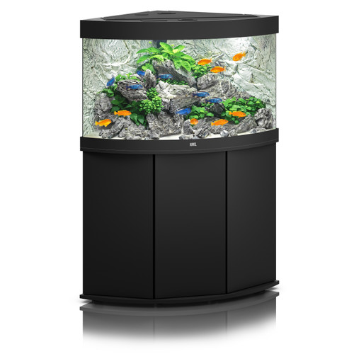 Juwel Trigon 190 LED Aquarium And Cabinet Black