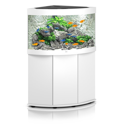 Juwel Trigon 190 LED Aquarium and Cabinet White