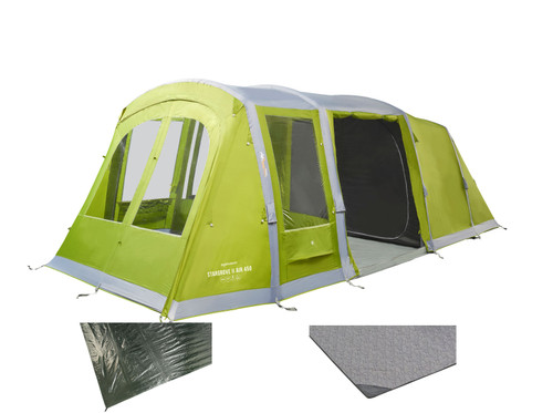 Stargrove air 450 with carpet & groundsheet