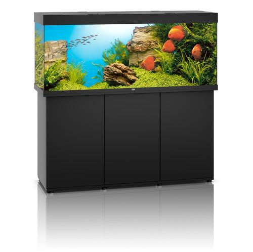 Juwel Rio 450 LED Aquarium And Cabinet Black