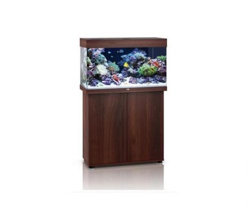 Juwel Rio 125 LED Marine Aquarium And Cabinet Dark Wood