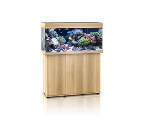Juwel Rio 180 LED Marine Aquarium And Cabinet Light Wood