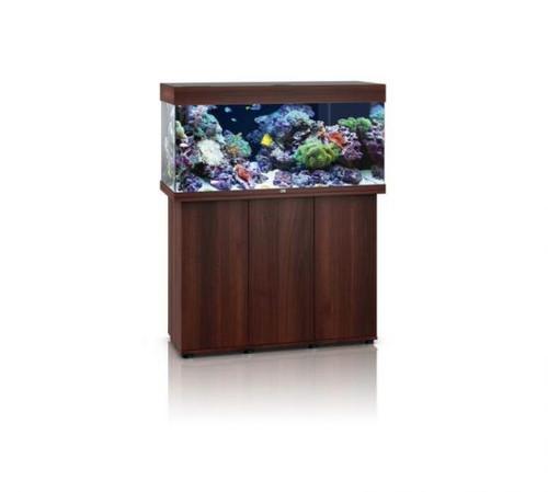 Juwel Rio 180 LED Marine Aquarium And Cabinet Dark Wood