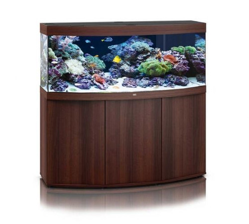 Juwel Vision 450 LED Marine Aquarium And Cabinet Dark Wood