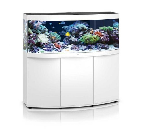 Juwel Vision 450 LED Marine Aquarium with Cabinet White