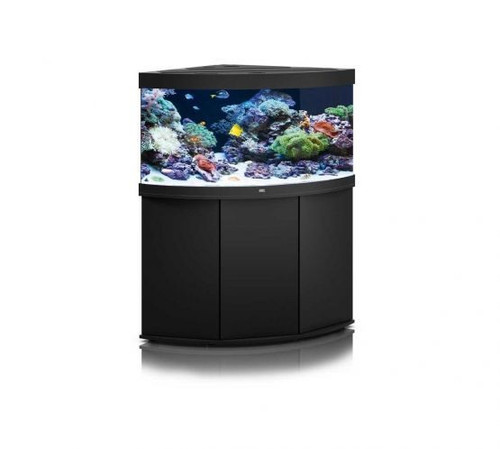 Juwel Trigon 350 LED Marine Aquarium And Cabinet Black