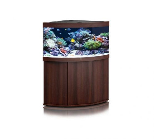Juwel Trigon 350 LED Marine Aquarium And Cabinet Dark Wood
