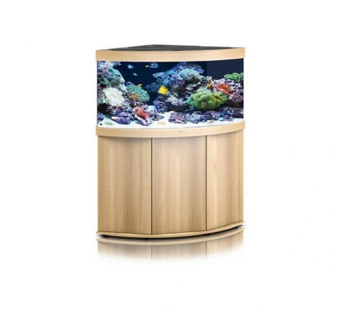 Juwel Trigon 350 LED Marine Aquarium And Cabinet Light Wood