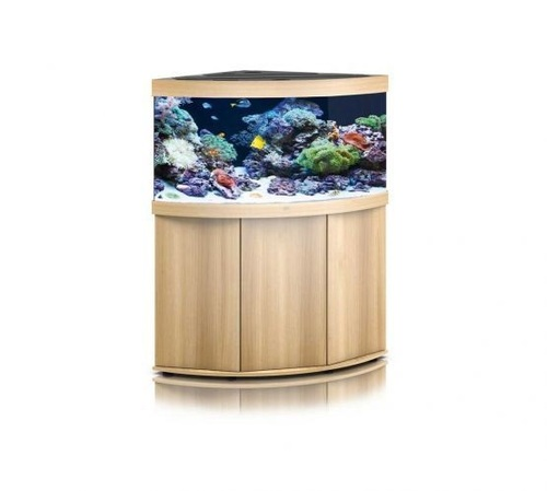 Juwel Trigon 350 LED Marine Aquarium And Cabinet Light Wood