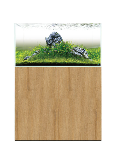 aquascape 900 tank and cabinet