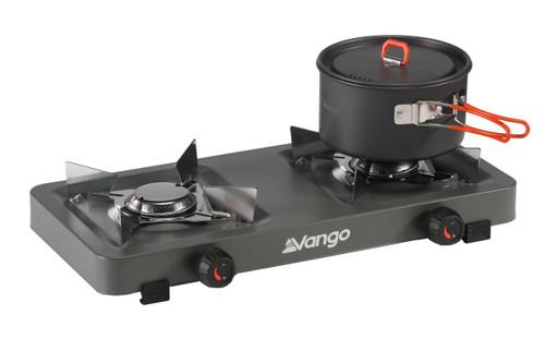 Blaze double burner camping stove