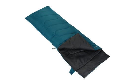 Ember single sleeping bag in bondi blue