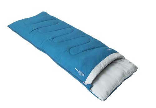 Flare single sleeping bag in Moroccan blue