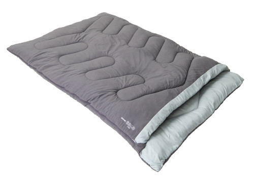 Flare Double Sleeping Bag in Nocturne Grey