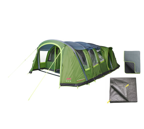 Weathermaster 8XL tent with carpet and footprint